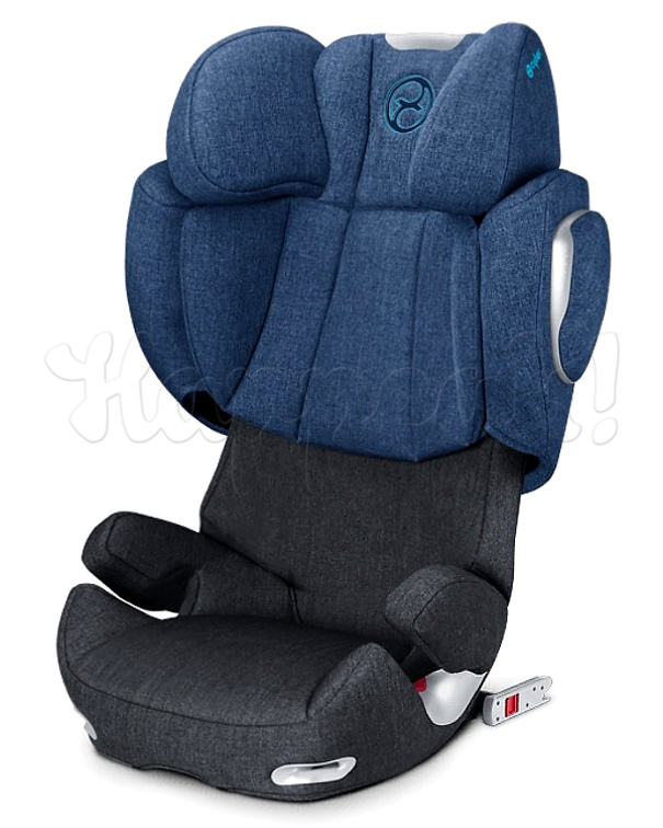 Автокресло CYBEX SOLUTION Q2-FIX PLUS TRUE BLUE