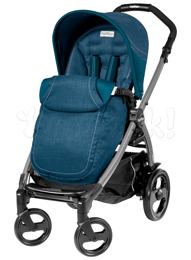 Коляска прогулочная PEG-PEREGO BOOK PLUS 51 JET POP-UP SAXONY BLUE