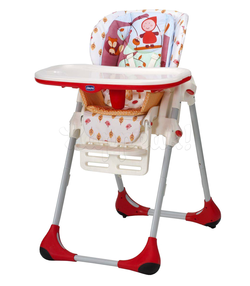 Стул высокий CHICCO POLLY HAPPY LAND