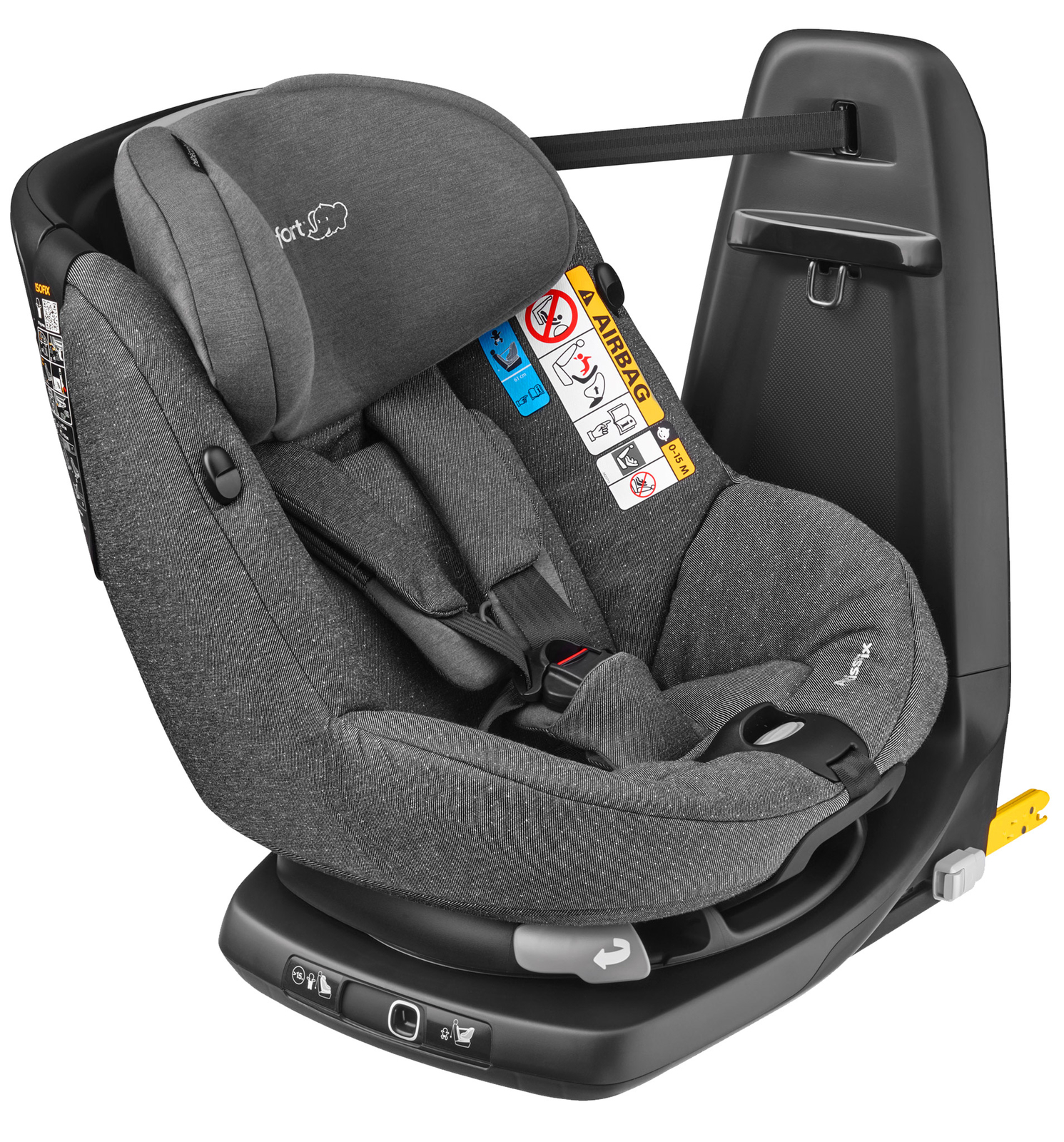 Автокресло MAXI-COSI AXISS FIX SPARKLING GREY