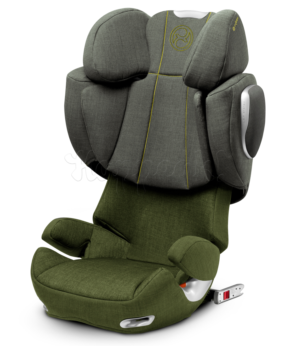 Автокресло CYBEX SOLUTION Q-FIX PLUS CYPRESS