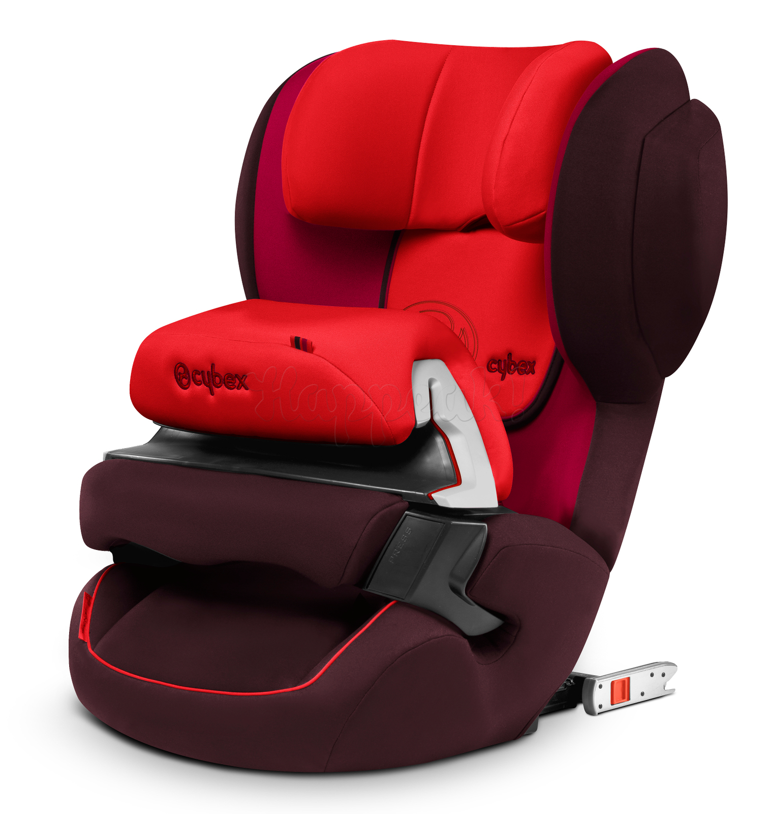Автокресло CYBEX JUNO 2-FIX STRAWBERRY