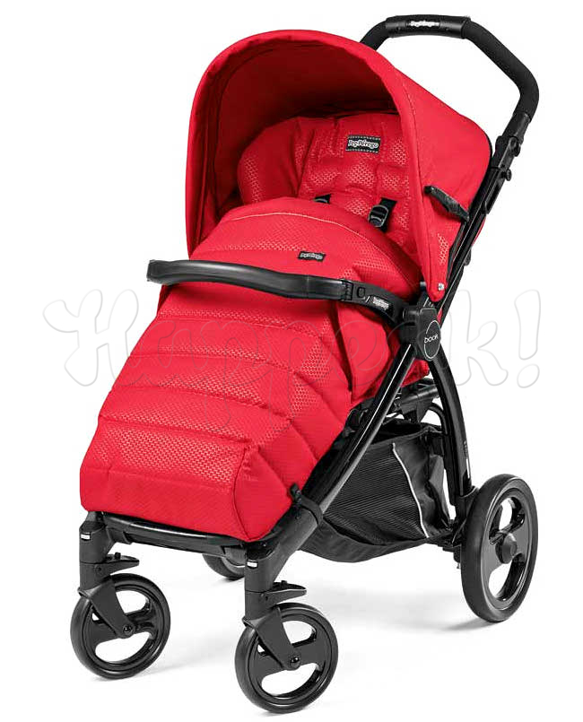 Коляска прогулочная PEG-PEREGO BOOK COMPLETO MOD RED