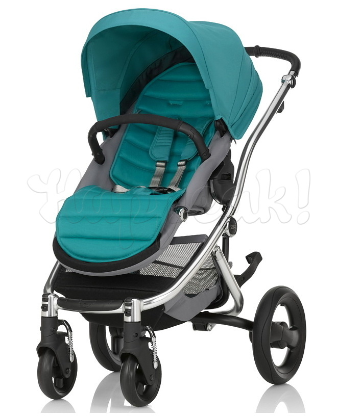 Коляска BRITAX AFFINITY 2 CHROME GREEN LAGOON 2 В 1