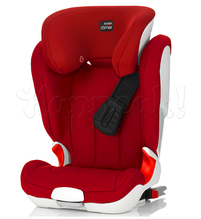 Автокресло BRITAX ROMER KIDFIX XP FLAME RED