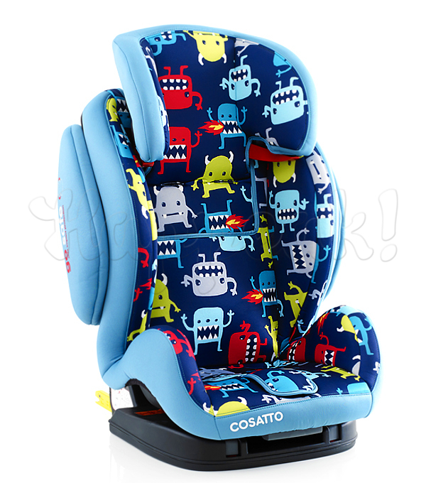 Автокресло COSATTO HUG ISOFIX CUDDLE MONSTER 2
