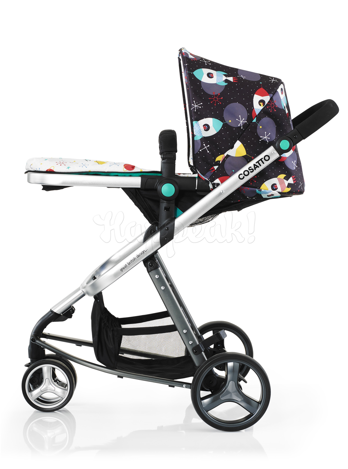 Коляска COSATTO GIGGLE SPACE RACER 2 В 1
