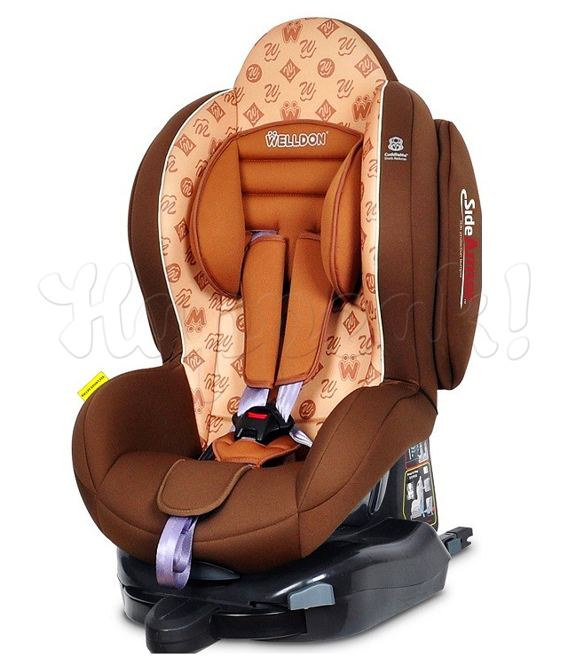 Автокресло WELLDON SMART SPORT SIDE ARMOR&CUDDLE ME MOCHA