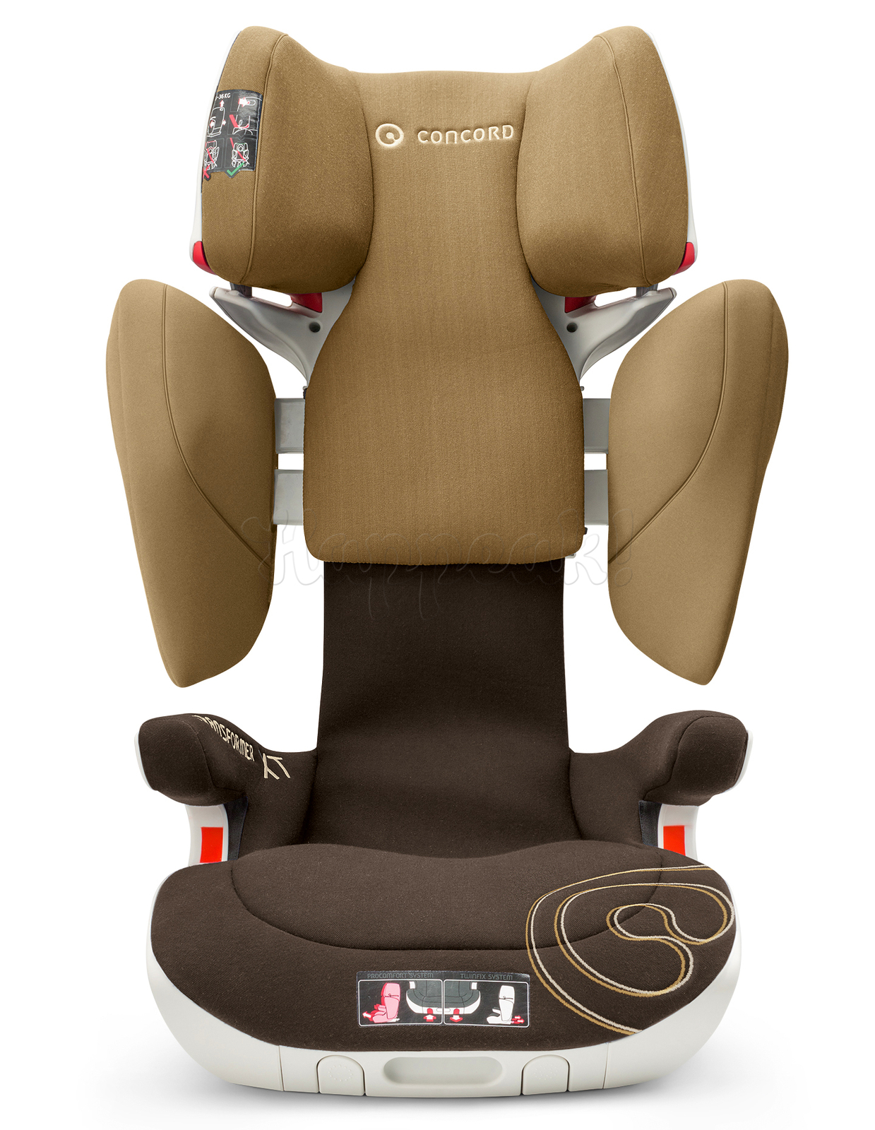 Автокресло CONCORD TRANSFORMER XT WALNUT BROWN 2016