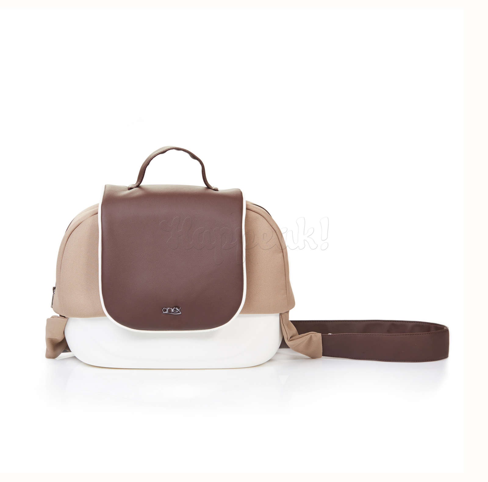 Коляска ANEX SPORT BEIGE-BROWN 3 В 1