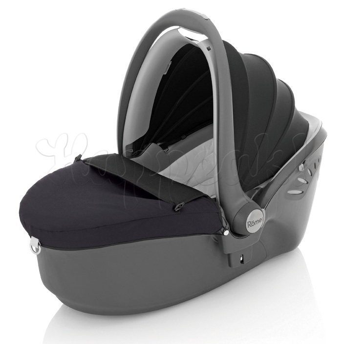 Автокресло BRITAX ROMER BABY-SAFE SLEEPER BLACK THUNDER