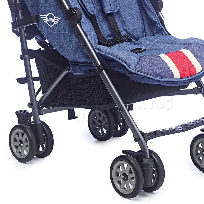 Коляска прогулочная EASYWALKER MINI BUGGY UNION JACK VINTAGE