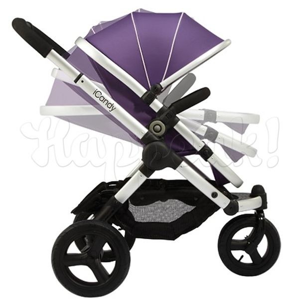 Коляска ICANDY PEACH JOGGER LOGANBERRY 2 В 1