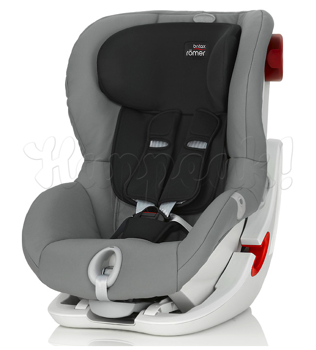 Автокресло BRITAX ROEMER KING II LS STEEL GREY