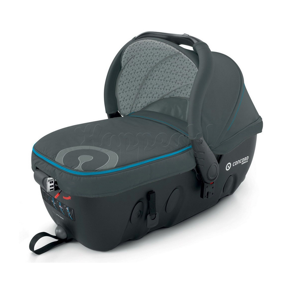 Люлька CONCORD SLEEPER 2.0 STONE GREY