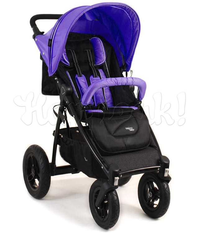 Коляска VALCO BABY QUAD X DEEP PURPLE