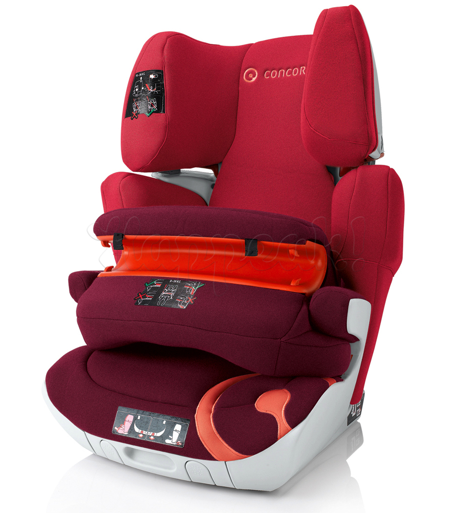 Автокресло CONCORD TRANSFORMER XT PRO LAVA RED