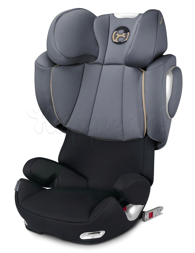Автокресло CYBEX SOLUTION Q3-FIX GRAPHITE BLACK