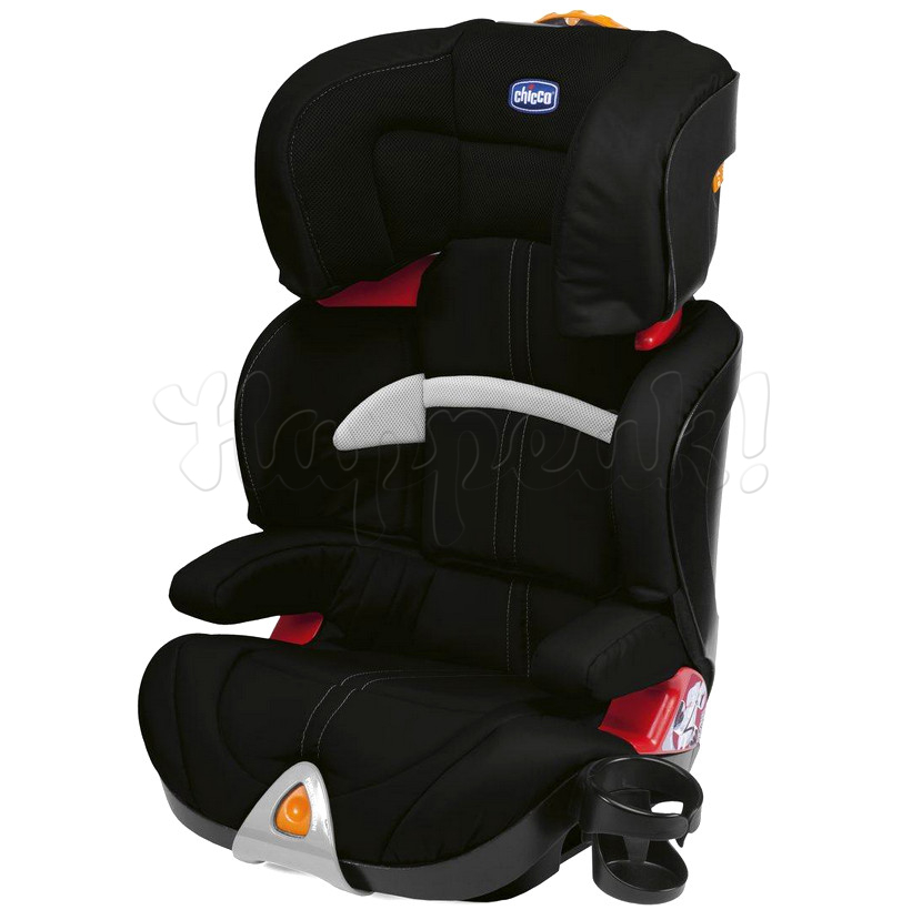 Автокресло CHICCO OASYS BLACK ГРУППА 2-3