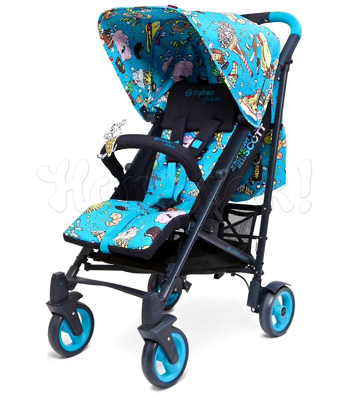Коляска-трость CYBEX CALLISTO JEREMY SCOTT MULTICOLOUR