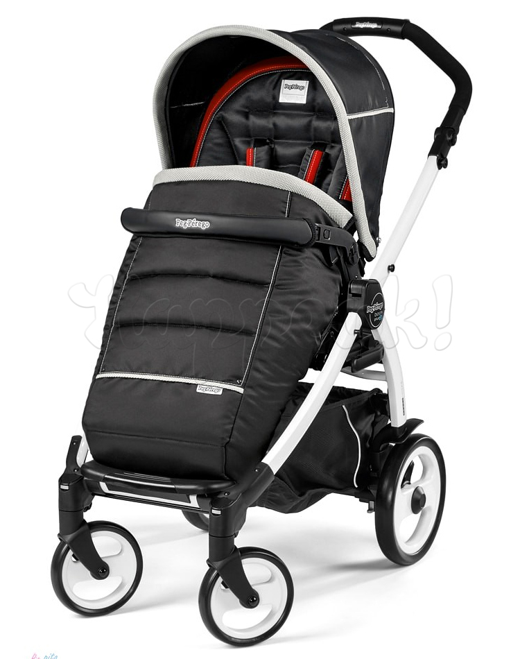 Коляска прогулочная PEG-PEREGO BOOK PLUS 51 WHITE POP-UP SYNERGY