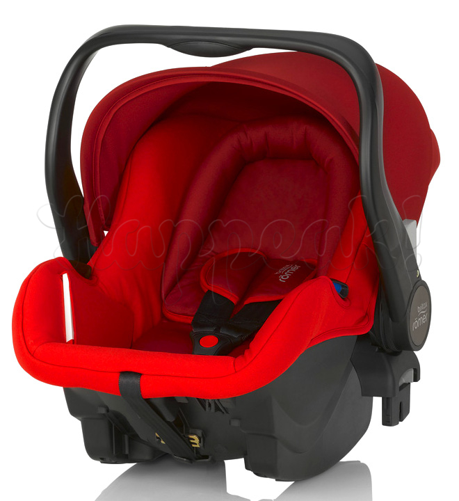 Автокресло BRITAX ROEMER PRIMO FLAME RED + БАЗА
