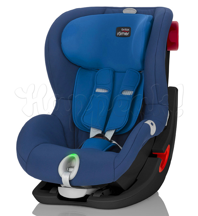 Автокресло BRITAX ROEMER KING II LS BLACK SERIES OCEAN BLUE