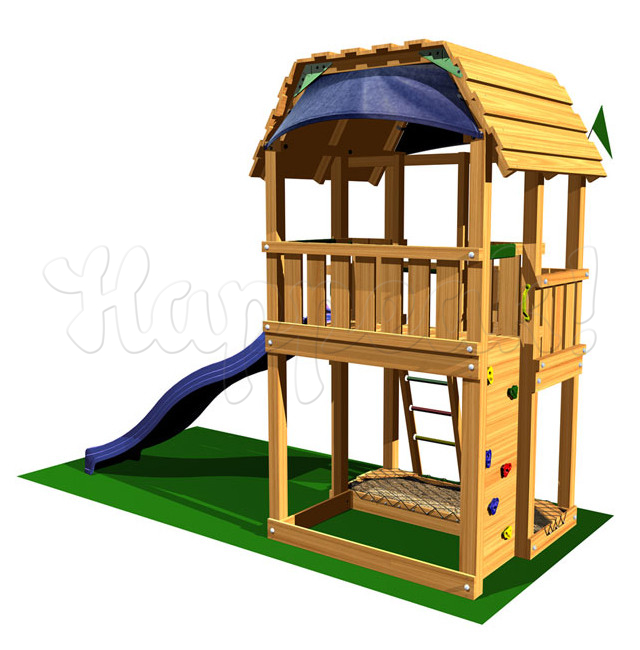 Игровой комплекс JUNGLE GYM BARN +SWING MODULE
