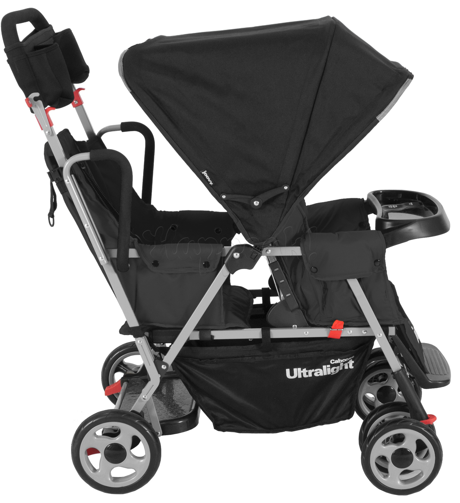 Коляска JOOVY CABOOSE TOO ULTRALIGHT BLACK