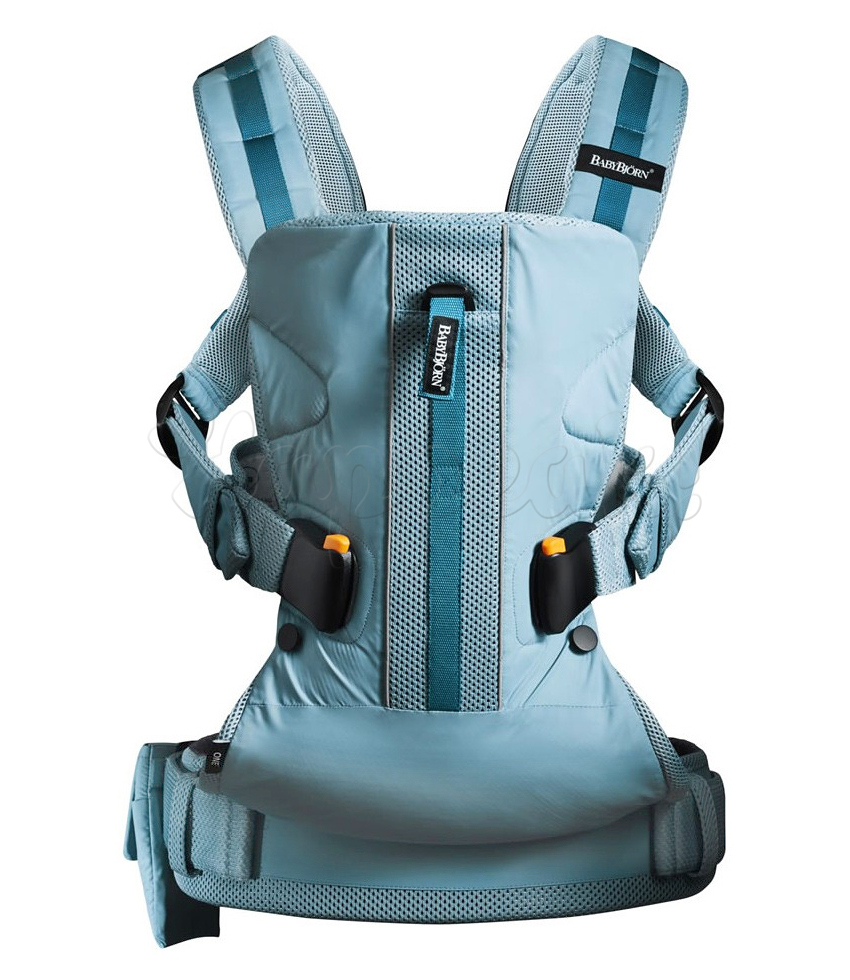 Рюкзак-кенгуру BABYBJORN ONE OUTDOORS TURQUOISE