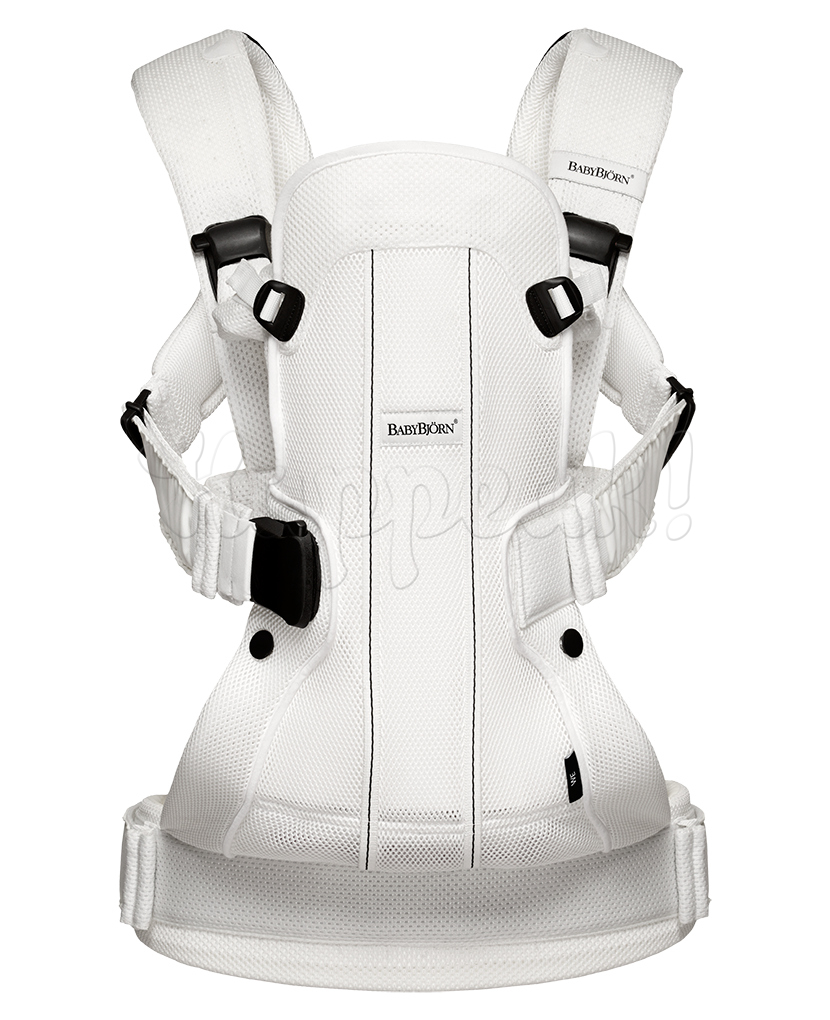 Рюкзак-кенгуру BABYBJORN WE SOFT AIR WHITE