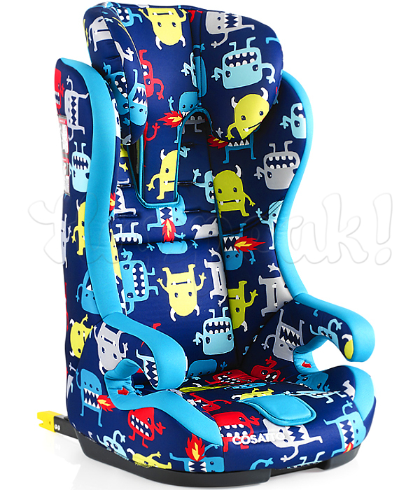 Автокресло COSATTO HUBBUB ISOFIX CUDDLE MONSTER 2