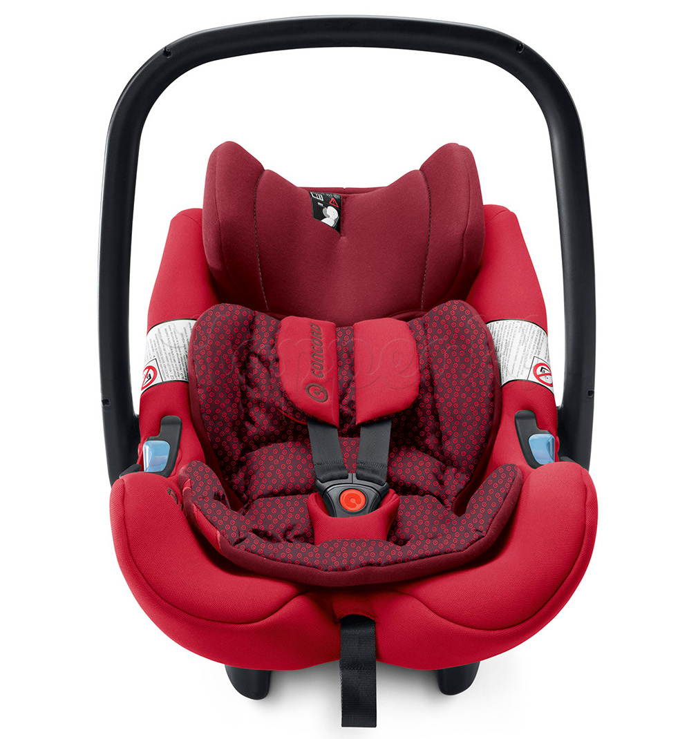 Автокресло CONCORD AIR SAFE+CLIP RUBY RED
