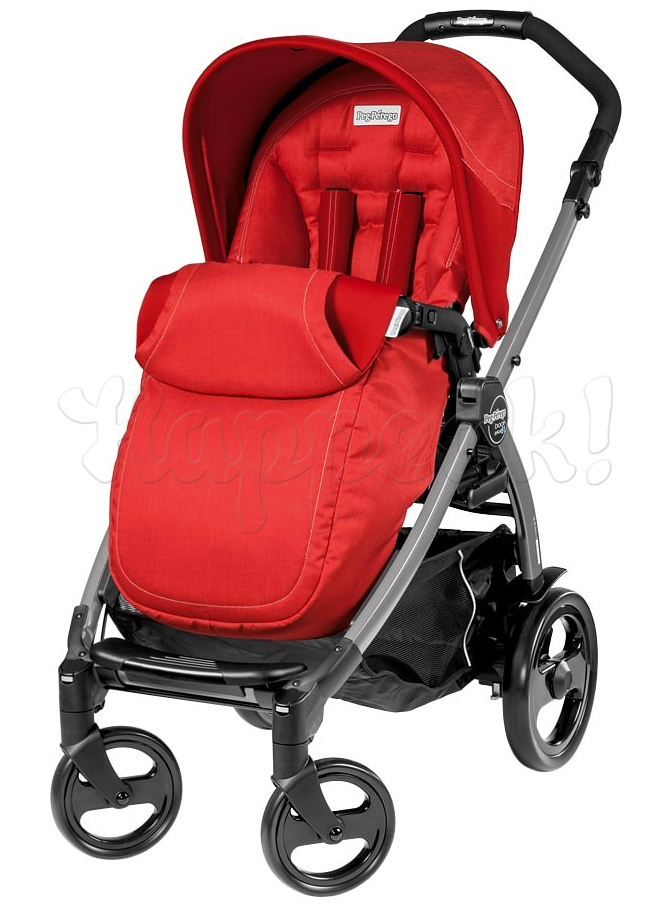Коляска PEG-PEREGO BOOK PLUS 51 COMPLETO MODULAR SUNSET  3 В 1 на шасси JET
