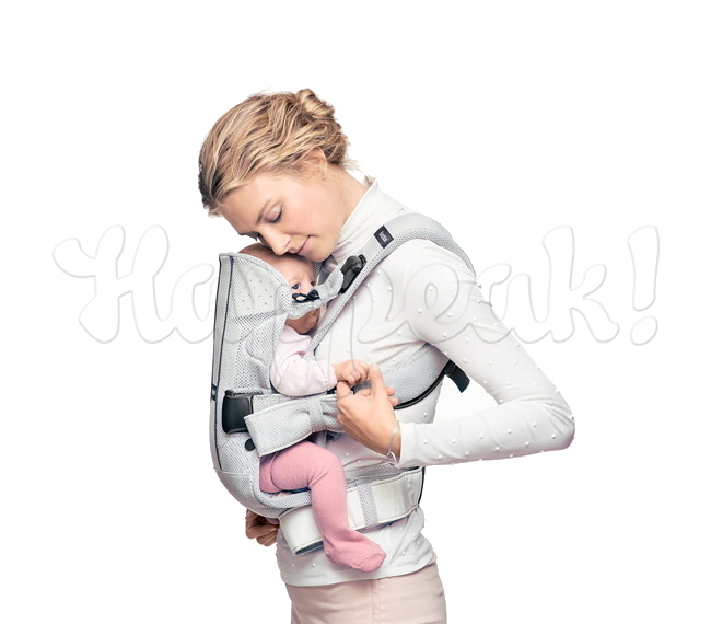 Рюкзак-кенгуру BABYBJORN ONE AIR ЧЁРНЫЙ