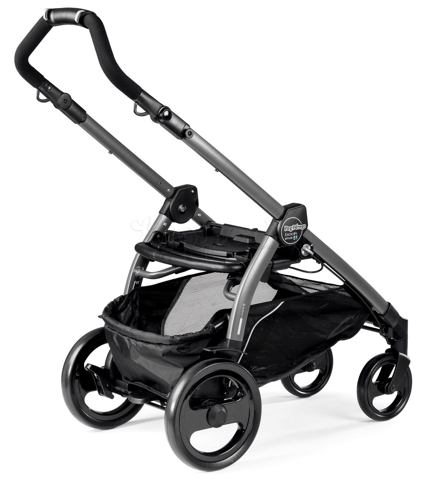 Коляска прогулочная PEG-PEREGO BOOK PLUS 51 JET POP-UP FLEUR